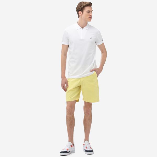 Nautica Erkek Slim Fit Sarı Bermuda Şort