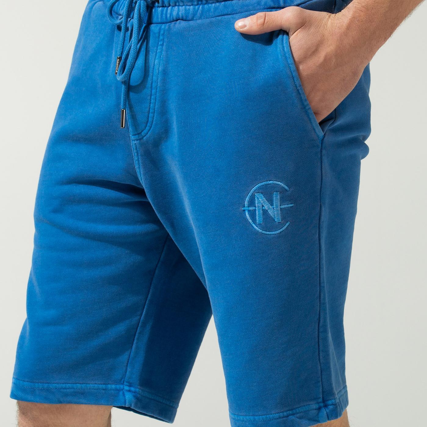 Nautica Erkek Mavi Şort