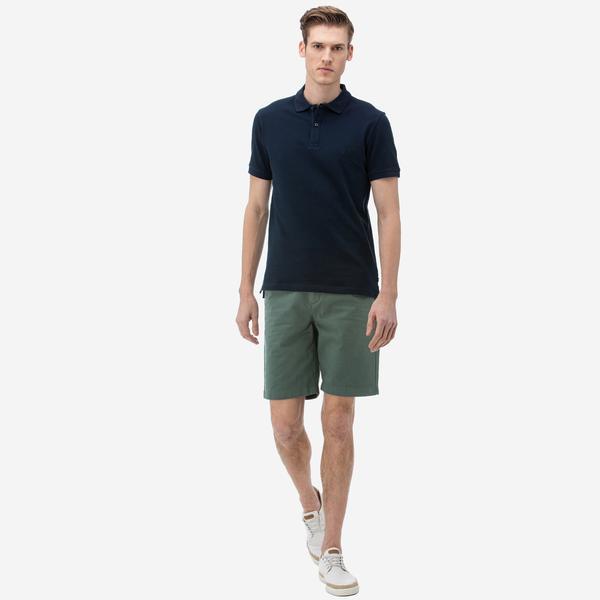 Nautica Erkek Slim Fit Yeşil Bermuda Şort
