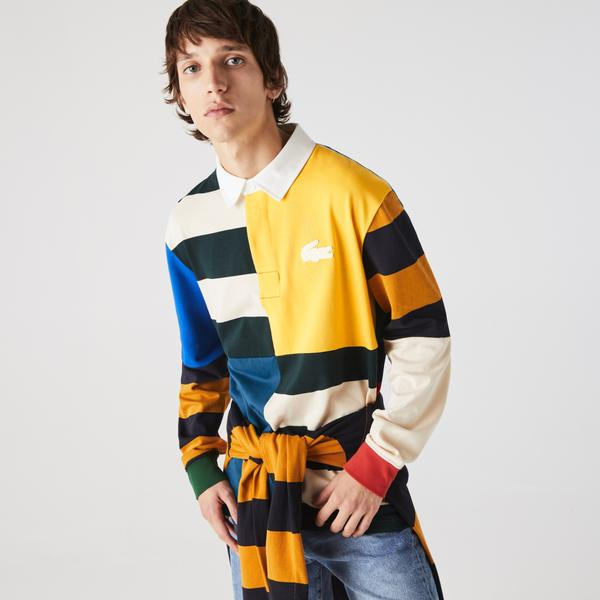 Lacoste L!ve Erkek Renkli Sweatshirt
