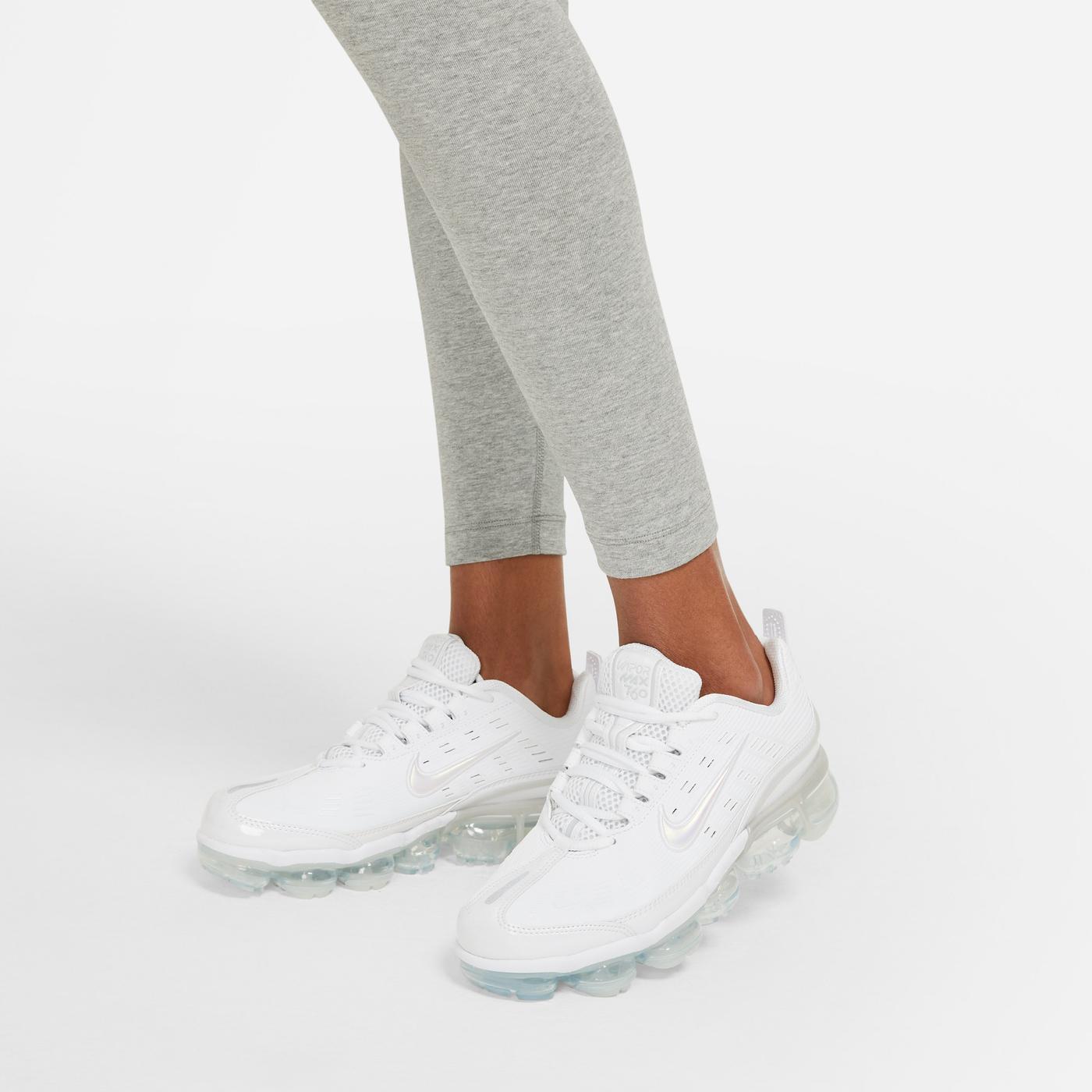 Nike Swoosh Kadın Gri Tayt