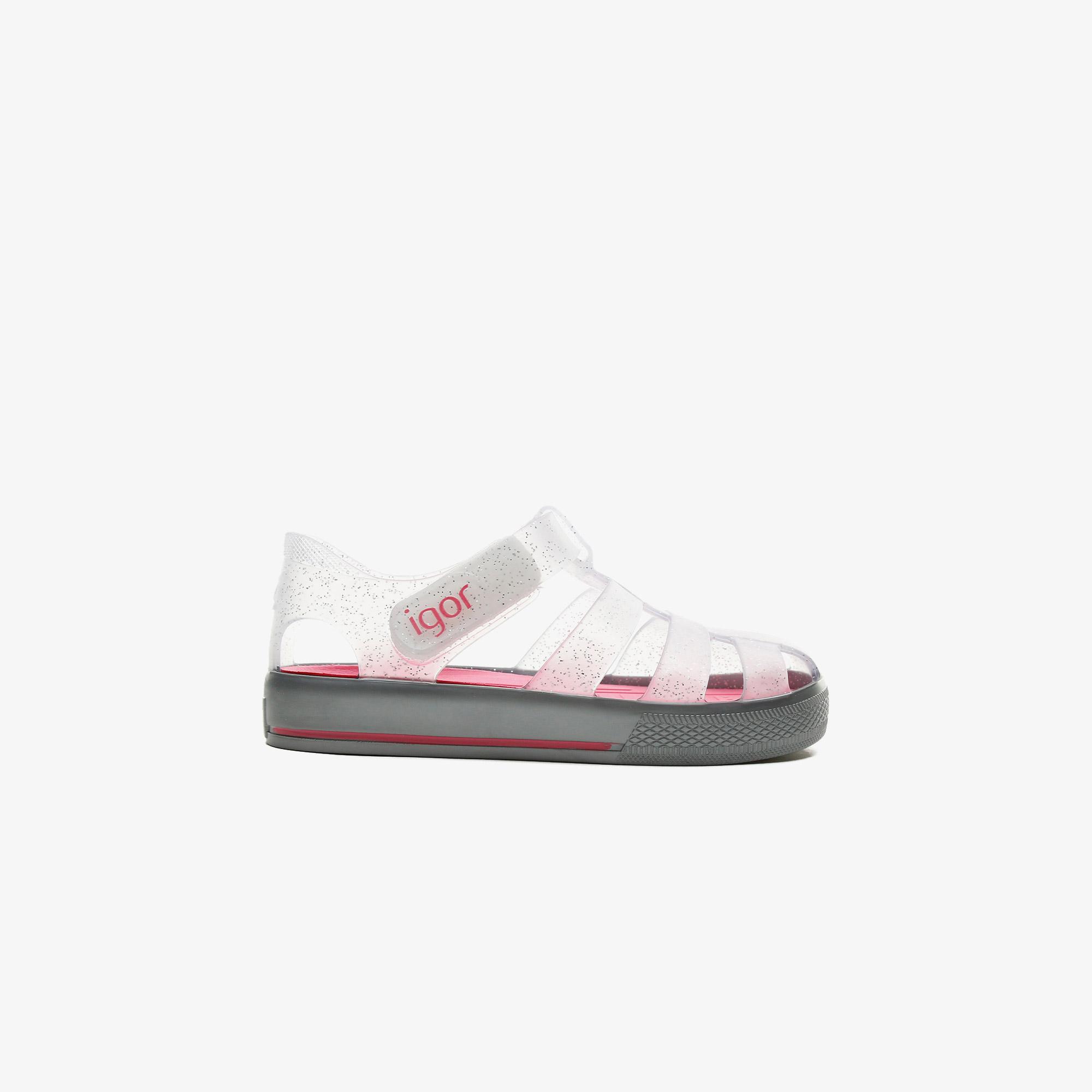 Igor Star Çocuk Pembe Sandalet Ayakkabı