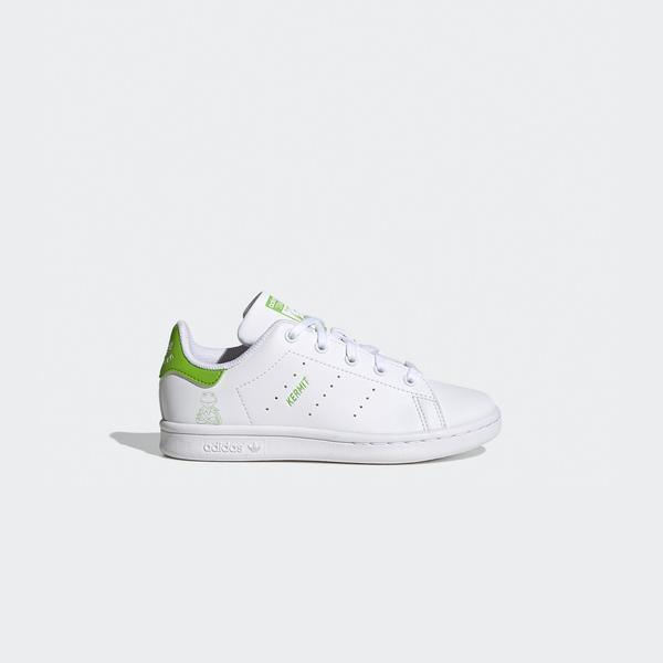 adidas Stan Smith Kermit Çocuk Beyaz Spor Ayakkabı