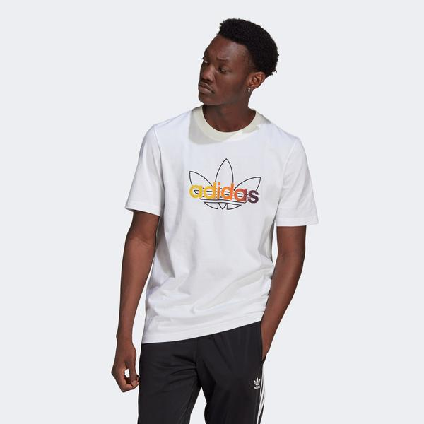 adidas SPRT Graphic Erkek Beyaz T-Shirt
