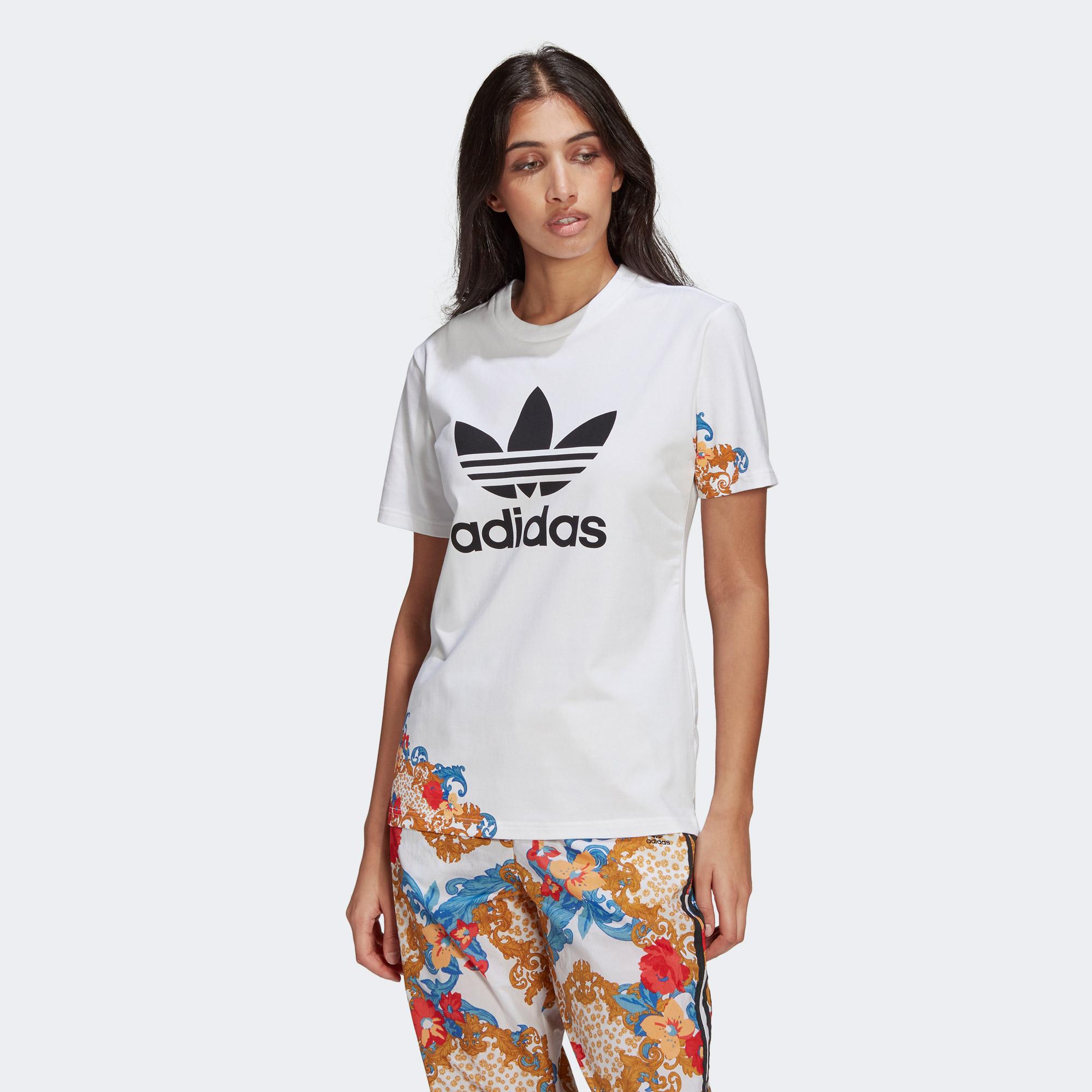 adidas HER Studio London Kadın Beyaz T-Shirt