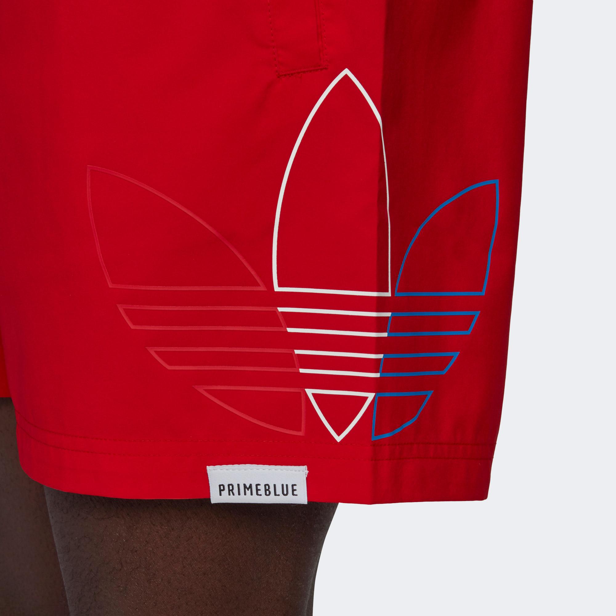 adidas Fto Swims Erkek Kırmızı Şort Mayo