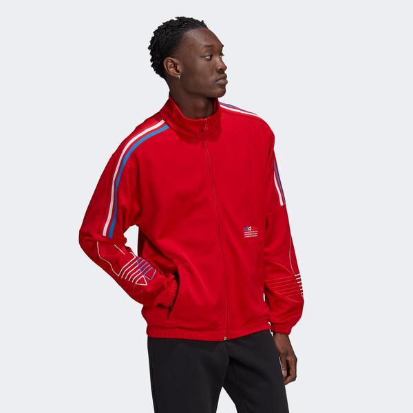 adidas Fto Erkek Kırmızı Eşofman Üstü