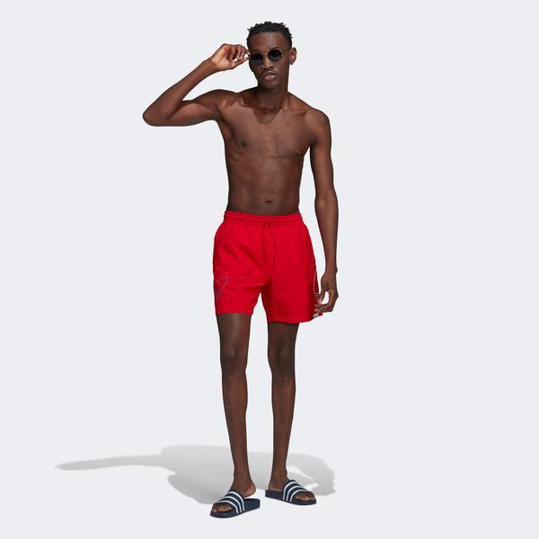 adidas Fto Swims Erkek Turuncu Şort Mayo