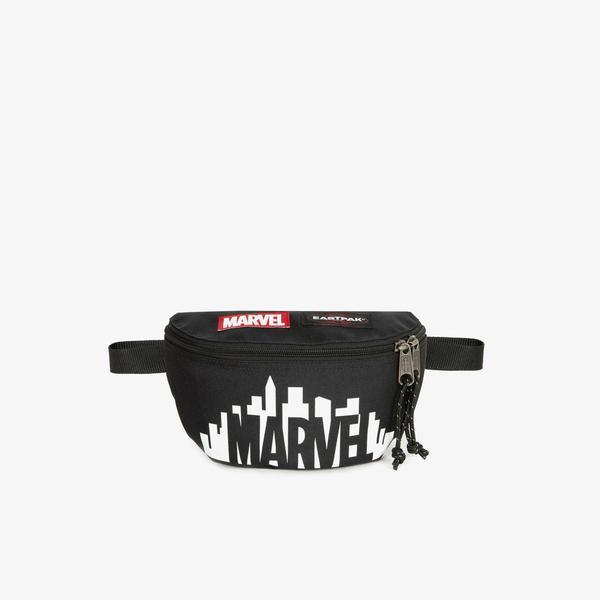 Eastpak Springer Marvel Skyline Unisex Siyah Bel Çantası
