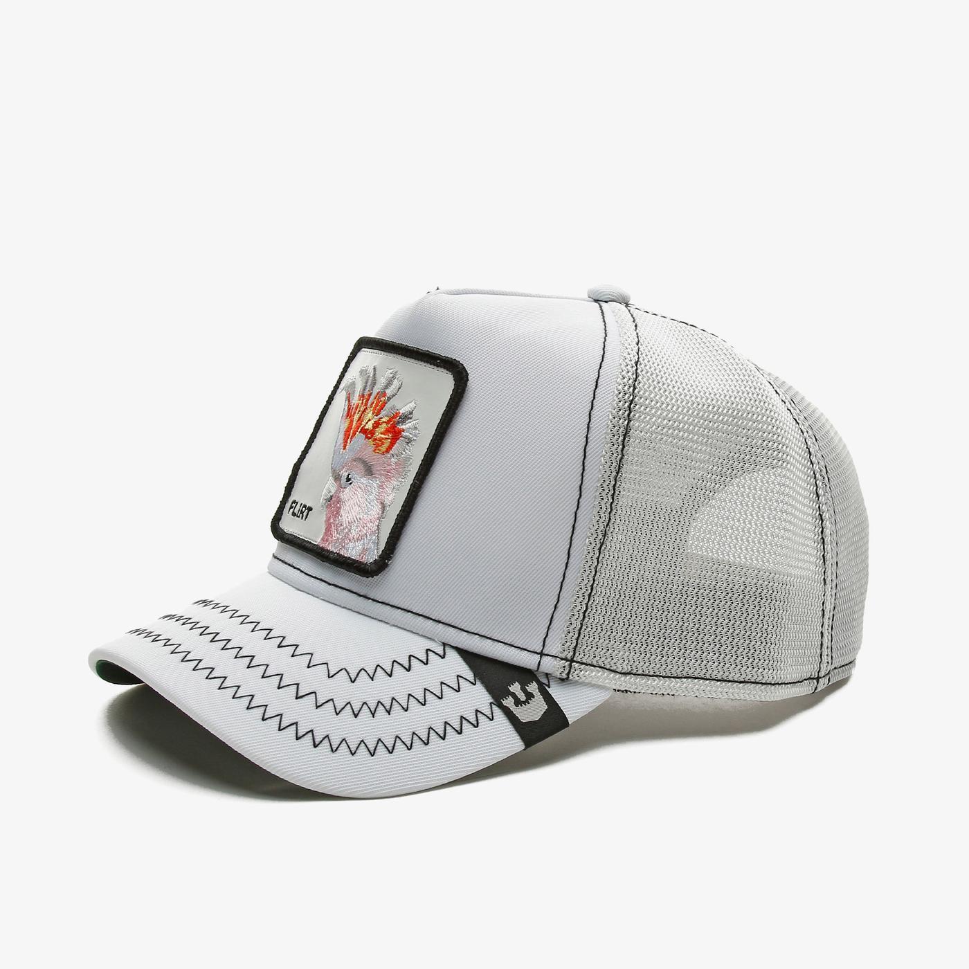 Goorin Bros Big Flirt Unisex Beyaz Şapka