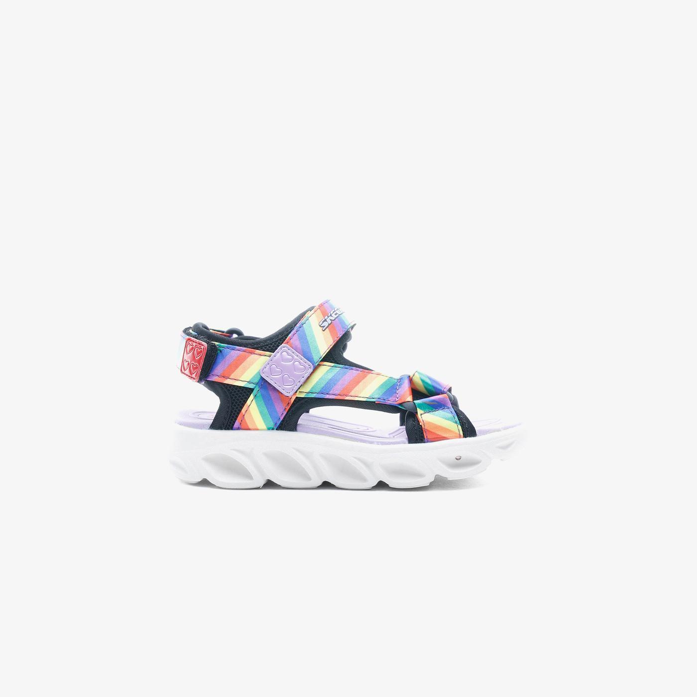 Skechers Hypno Splash - Rainbow Lights Çocuk Siyah Sandalet