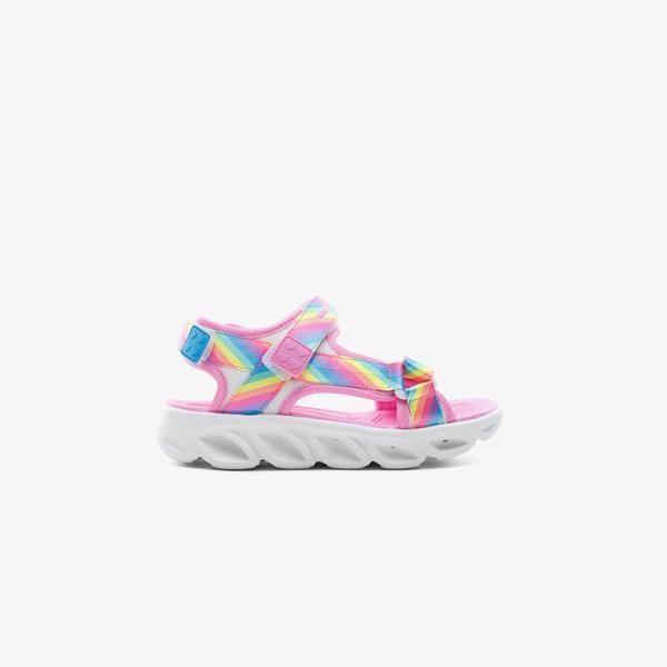 Skechers Hypno Splash - Rainbow Lights Çocuk Pembe Sandalet