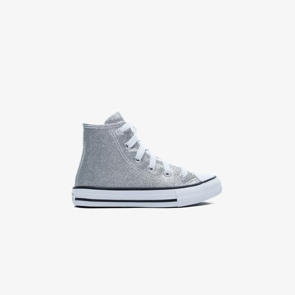 Converse Chuck Taylor All Star Hi Çocuk Gri Sneaker
