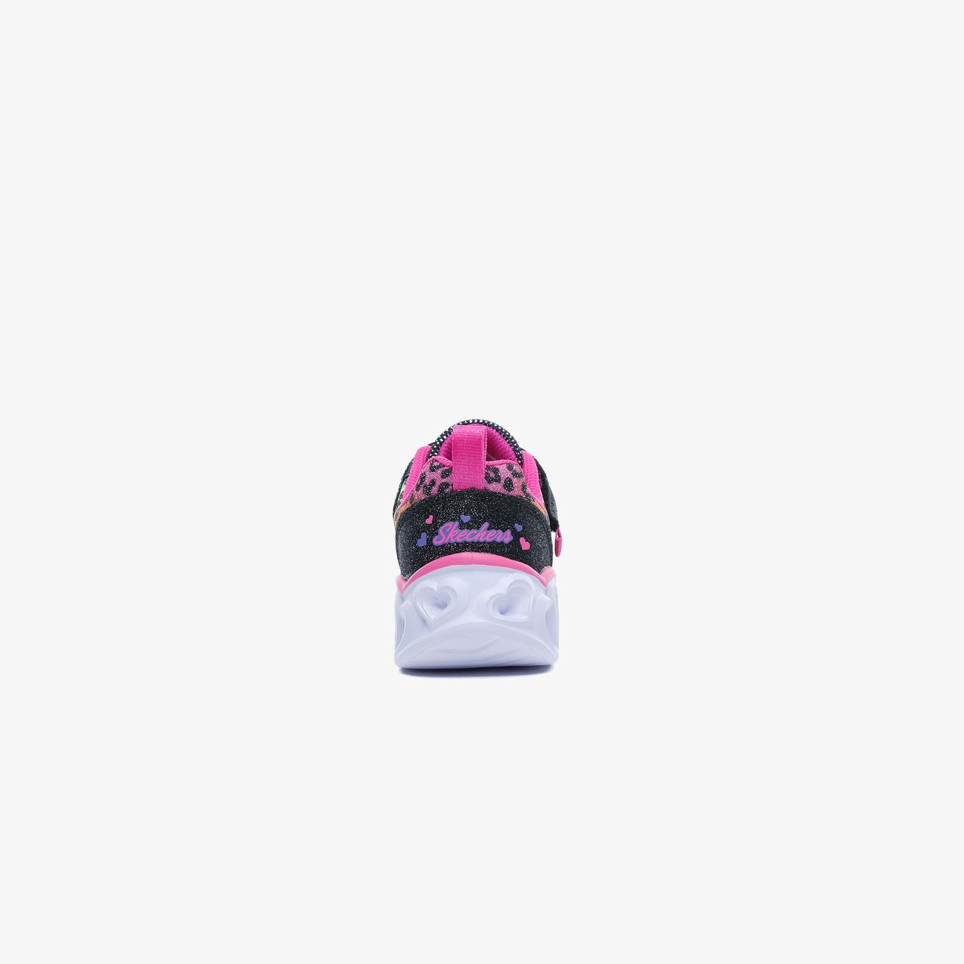 Skechers Heart Lights Çocuk Siyah Spor Ayakkabı