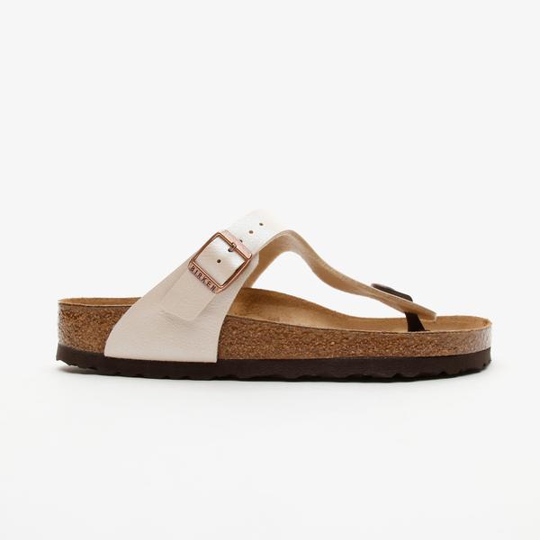 Birkenstock Gizeh Bf Kadın Beyaz Sandalet