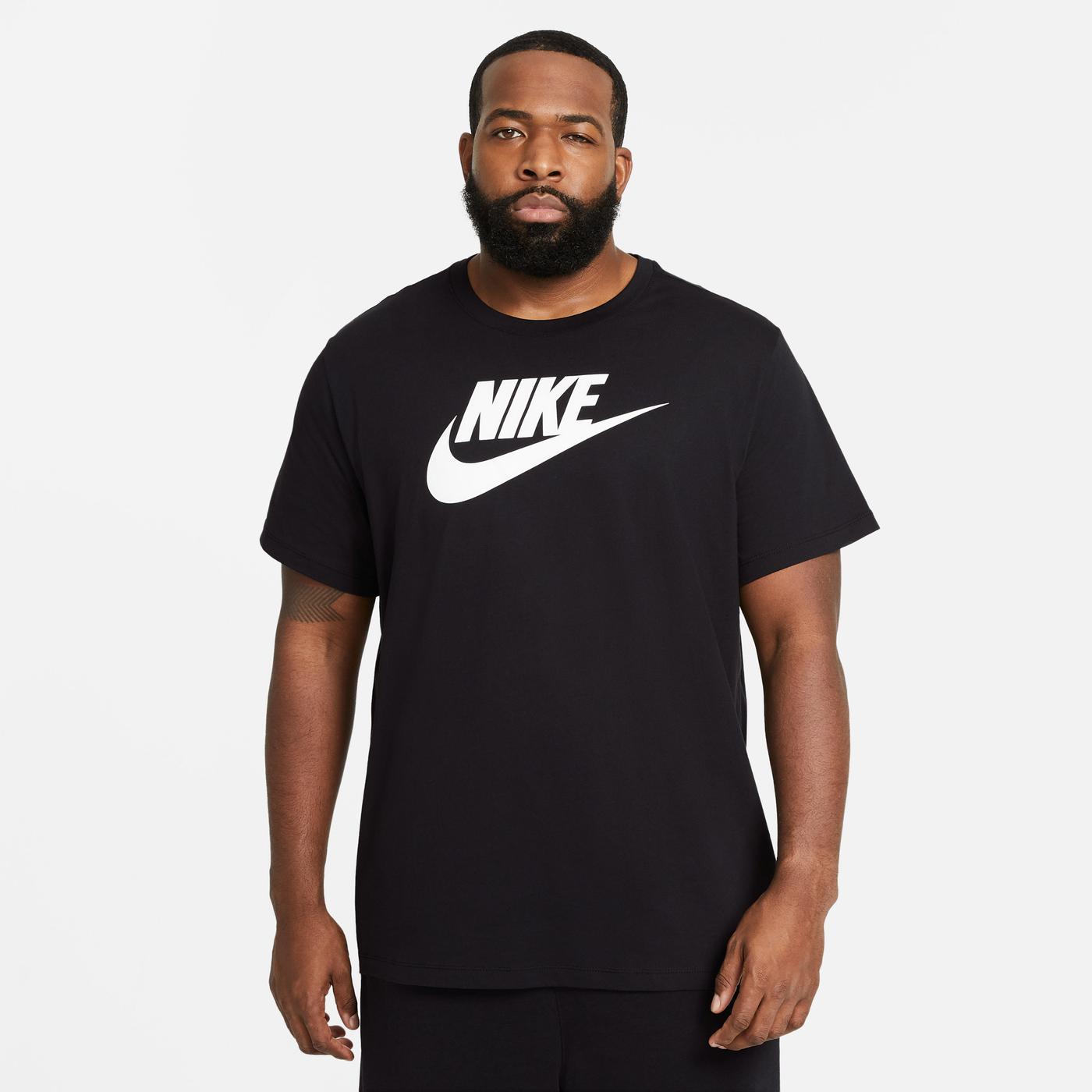 Nike Icon Futura Erkek Siyah T-Shirt