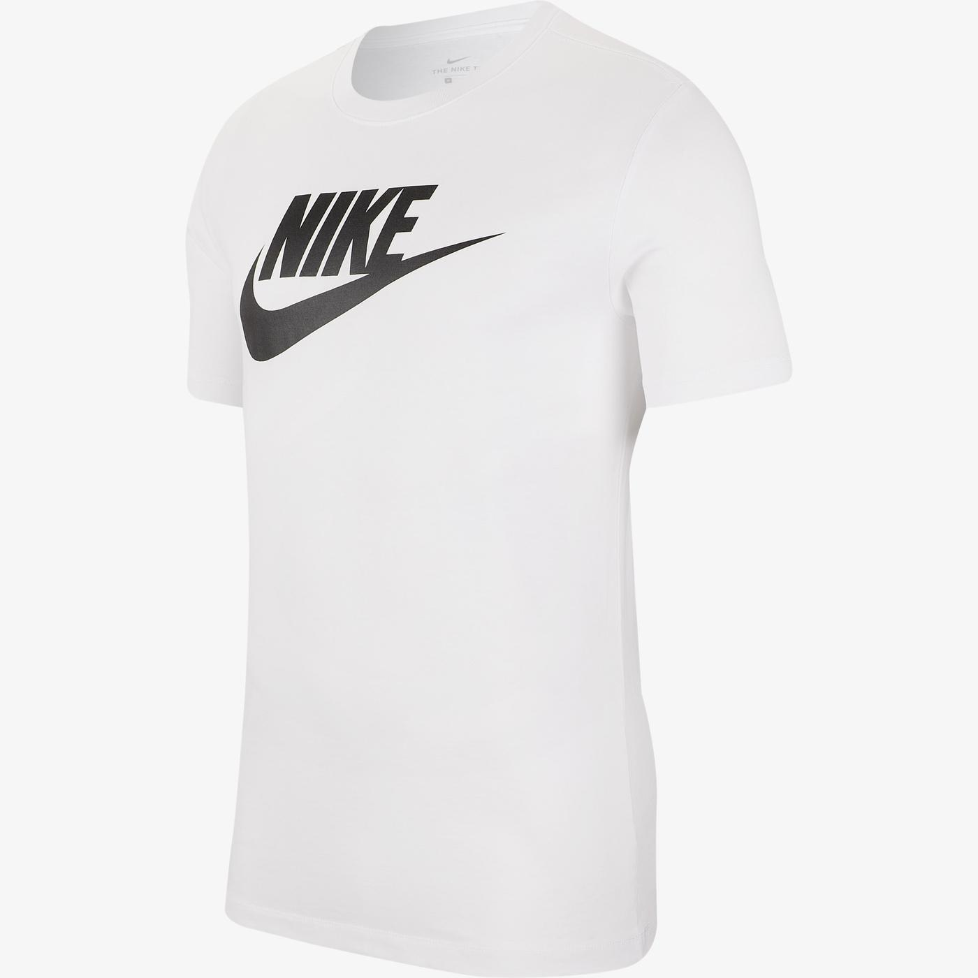 Nike Icon Futura Erkek Beyaz T-Shirt
