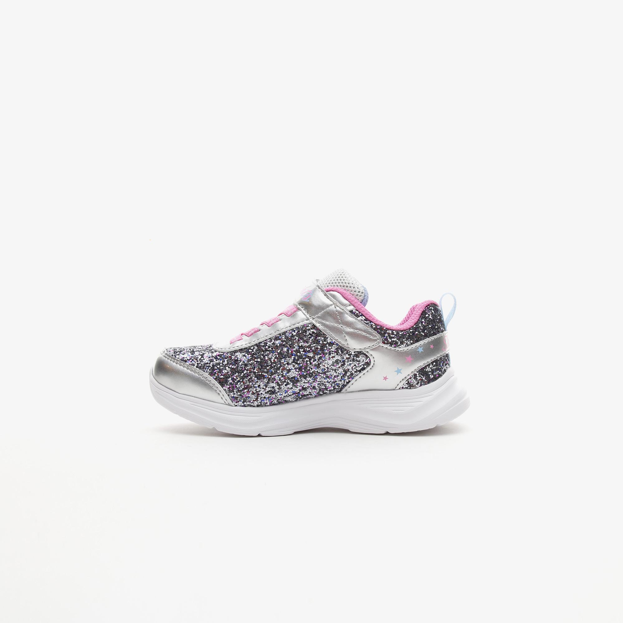Skechers Glimmer Kicks - Starlet Shine Çocuk Gri Spor Ayakkabı