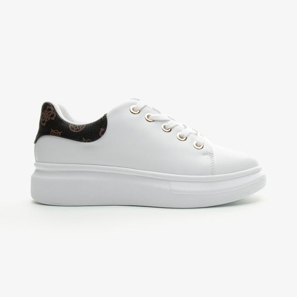 Guess Bradly 2 Kadın Beyaz Günlük Ayakkabı