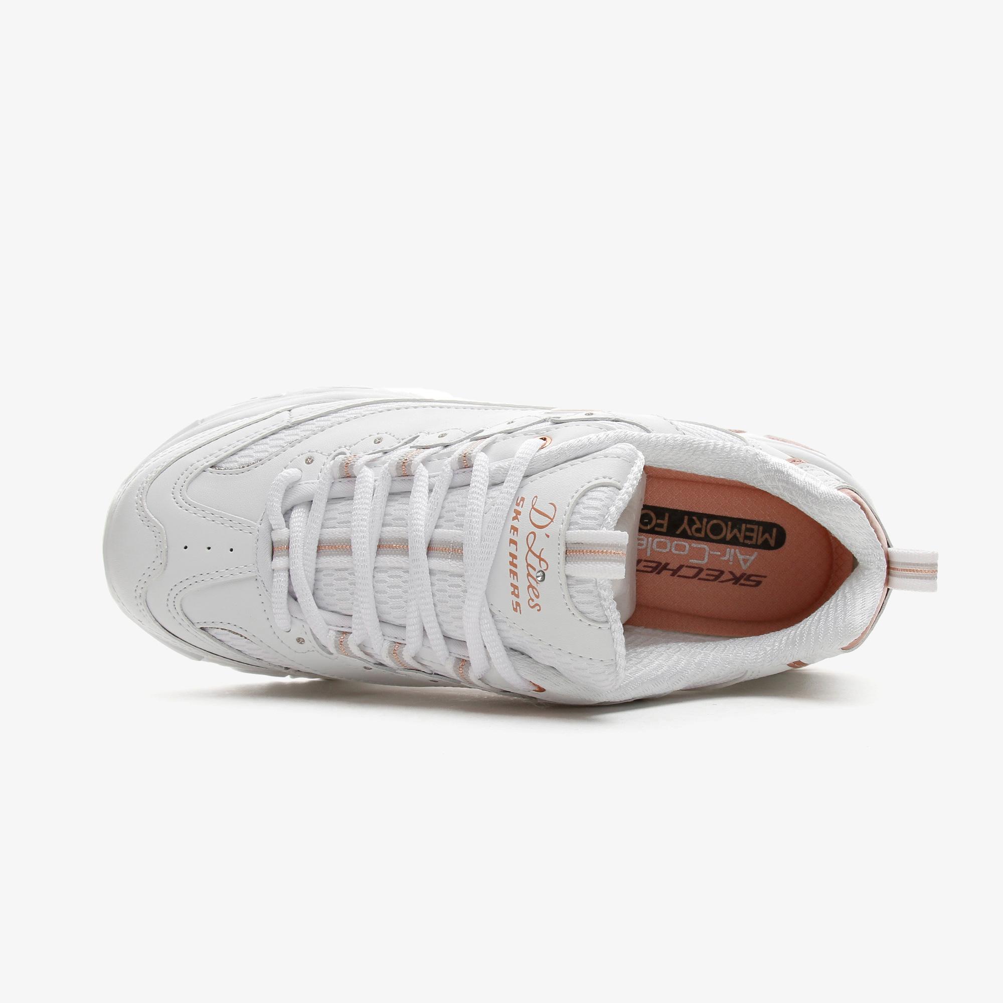 Skechers D'Lites Kadın Beyaz Spor Ayakkabı