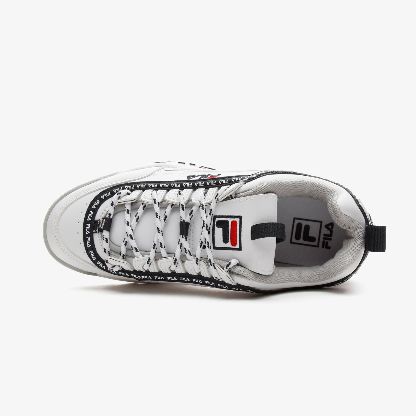 Fila Disruptor Logo Kadın Beyaz Spor Ayakkabı