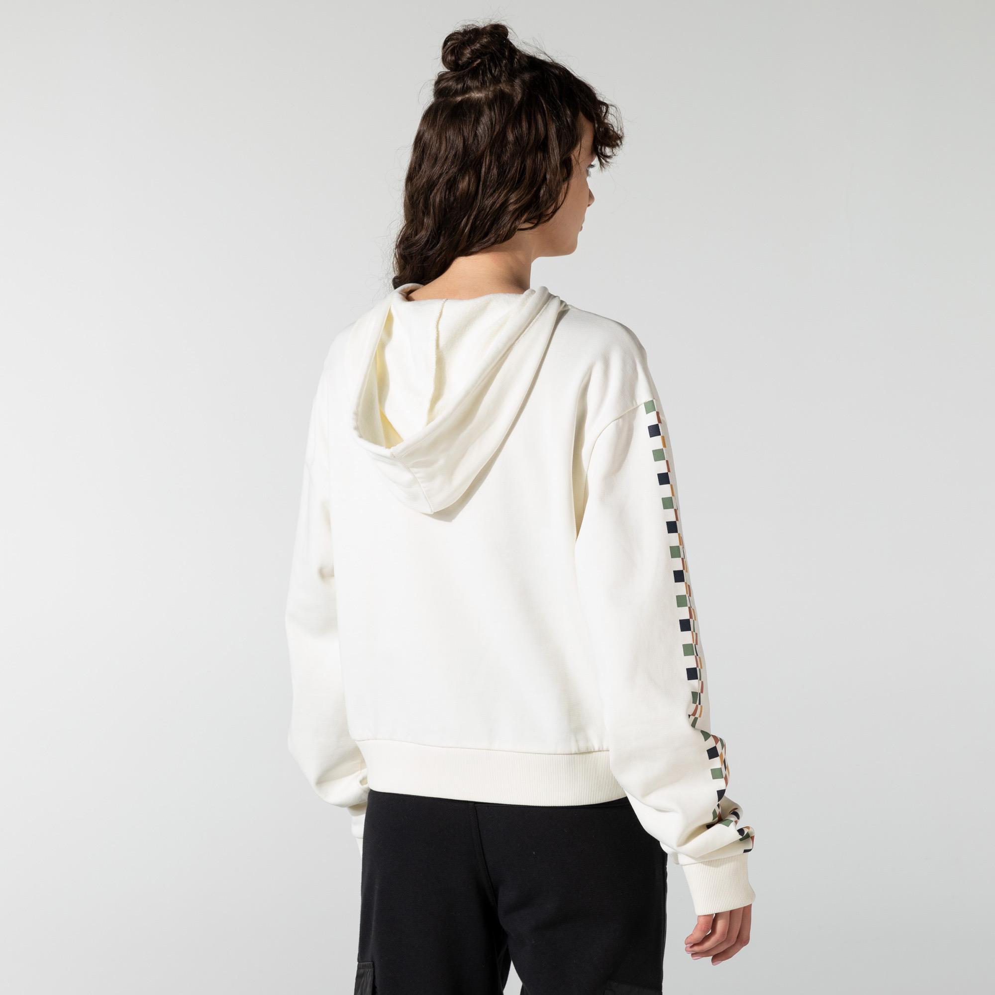 Vans Karina Rozunko Kadın Beyaz Sweatshirt