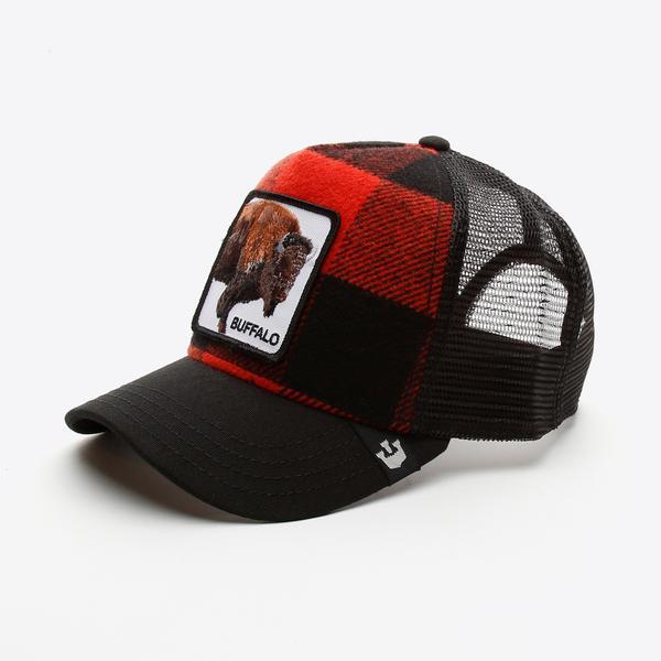 Goorin Bros Buffalo Unisex Kırmızı Şapka