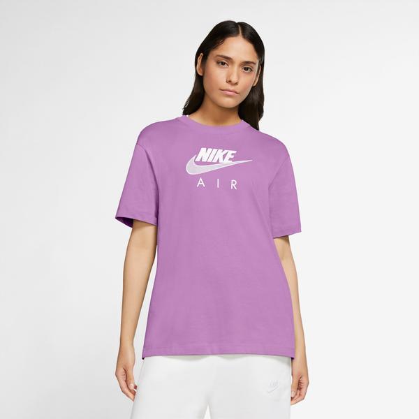 Nike Sportswear Air Bf Kadın Mor T-Shirt