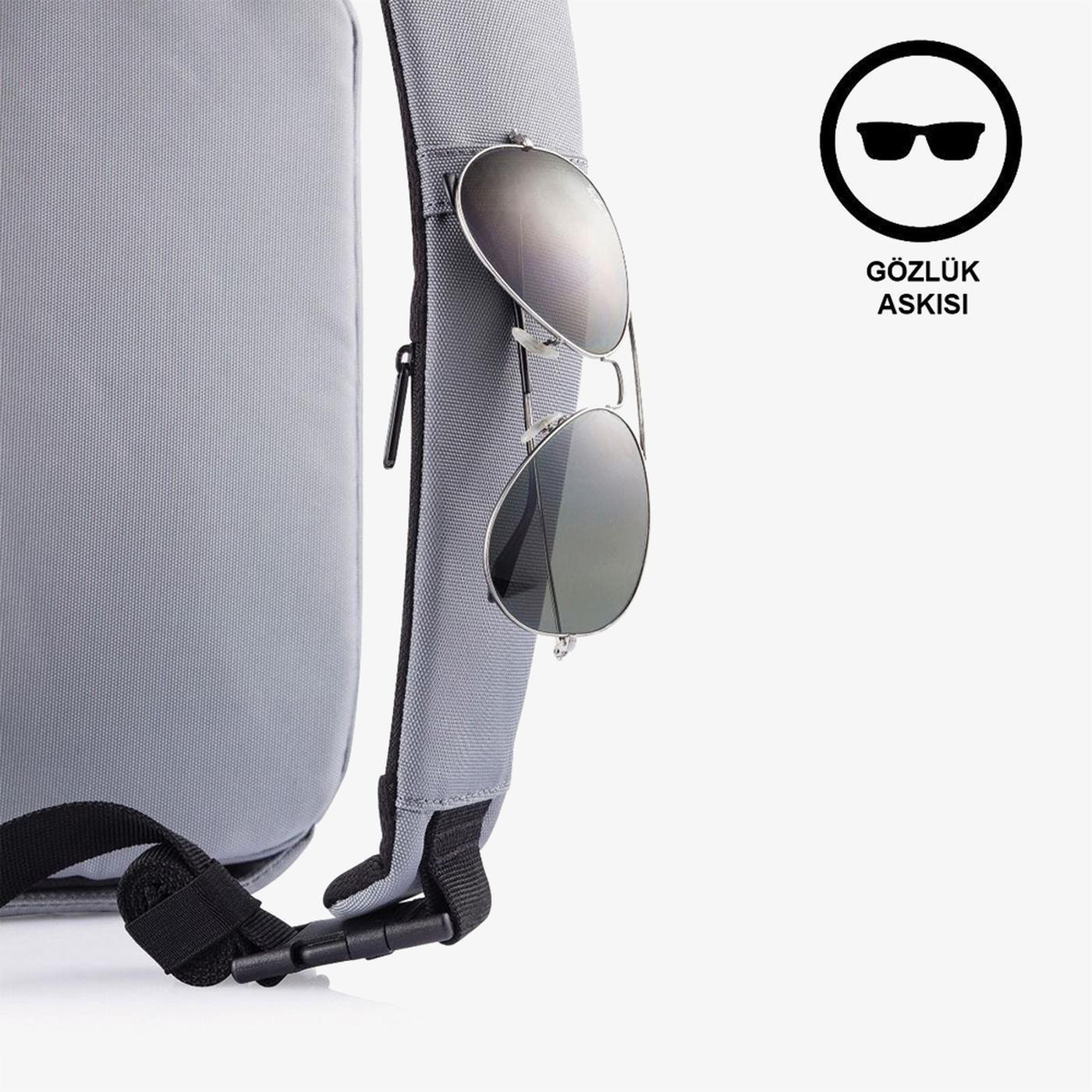 XD Design Unisex Gri Çanta