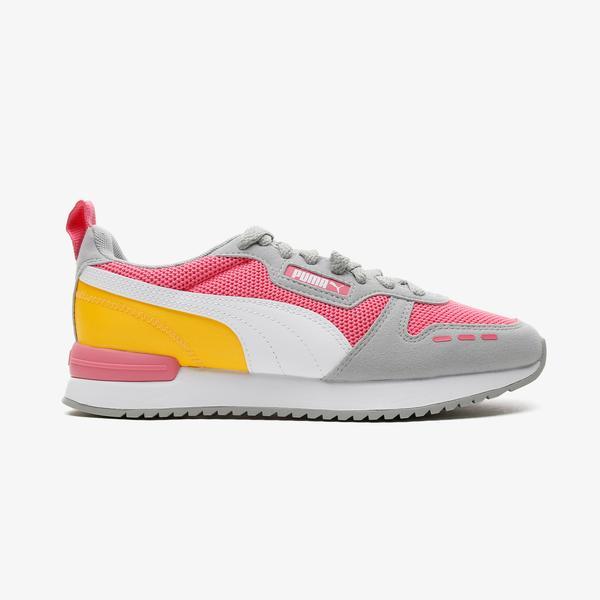 Puma R78 Kadın Gri-Pembe Spor Ayakkabı