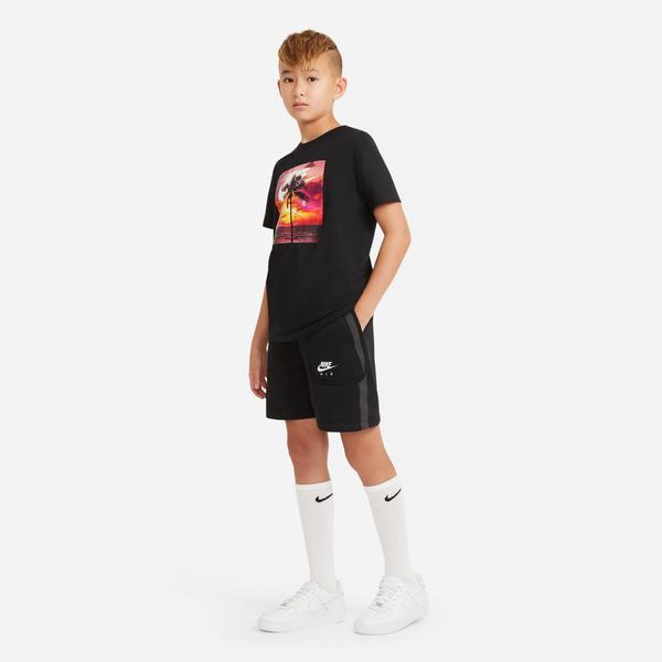 Nike Sportswear Air Ft Çocuk Siyah Şort