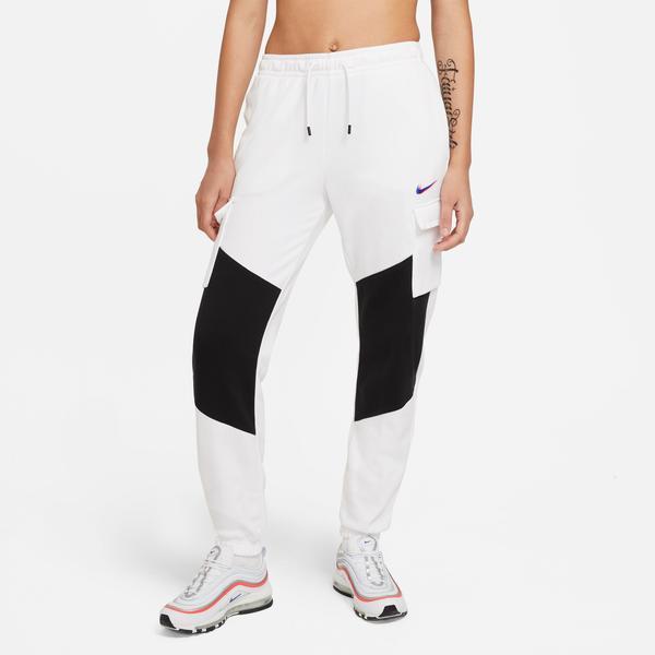 Nike Sportswear Cargo Loose Prnt Kadın Beyaz Eşofman Altı
