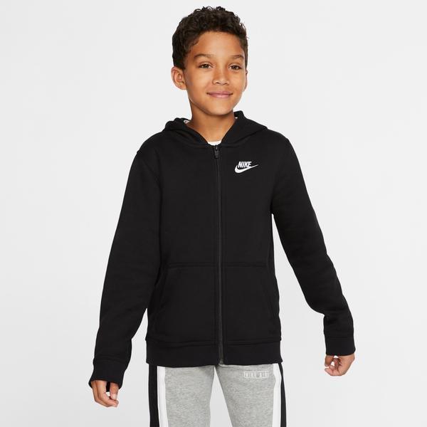 Nike Big Kids Sportswear Club Çocuk Siyah Kapüşonlu Sweatshirt