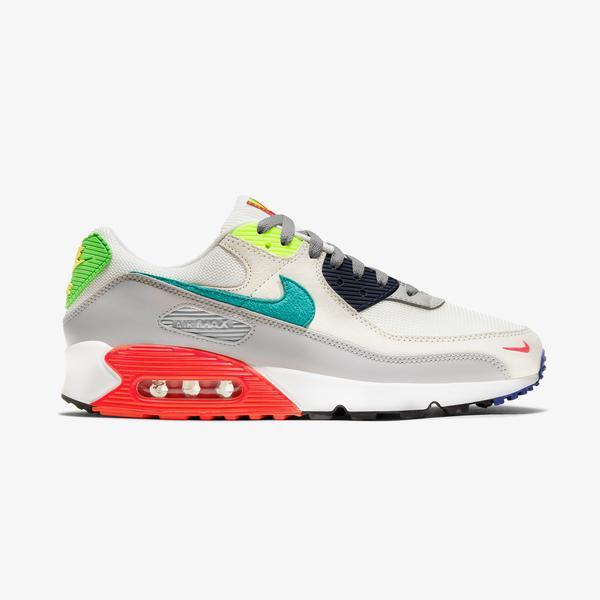Nike Air Max 90 Erkek Renkli Spor Ayakkabı
