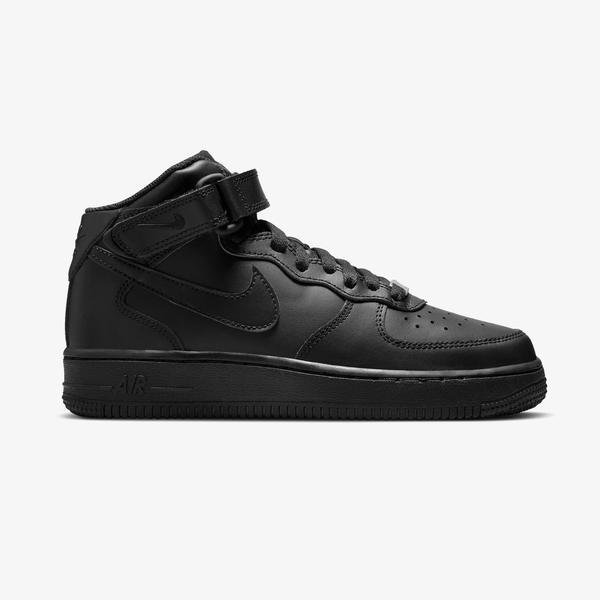 Nike Air Force 1 Mid LE Kadın Siyah Spor Ayakkabı