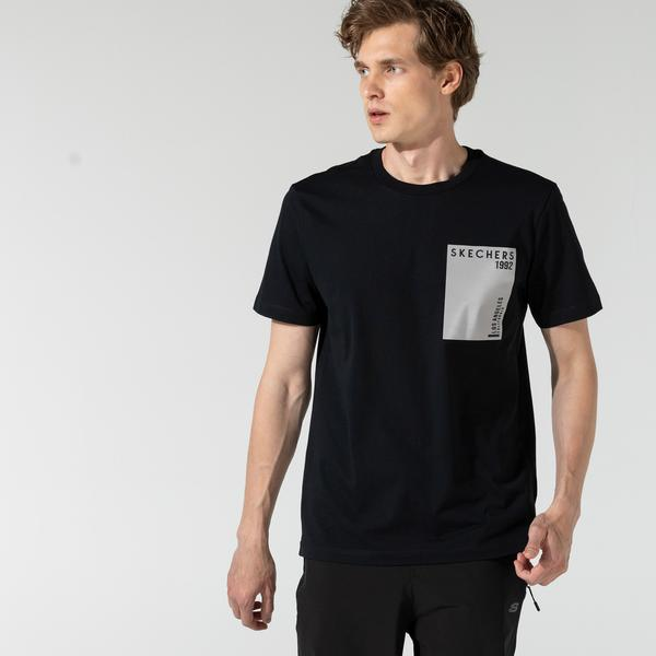 Skechers Erkek Siyah T-Shirt
