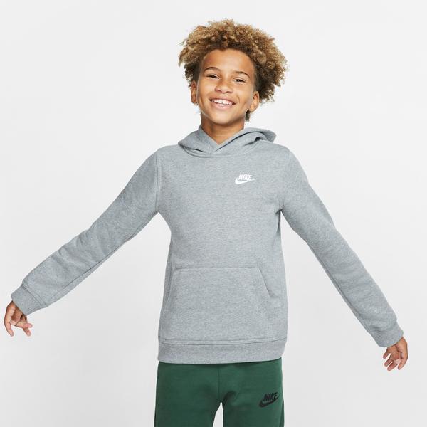 Nike Sportswear Club Po Çocuk Gri Sweatshirt