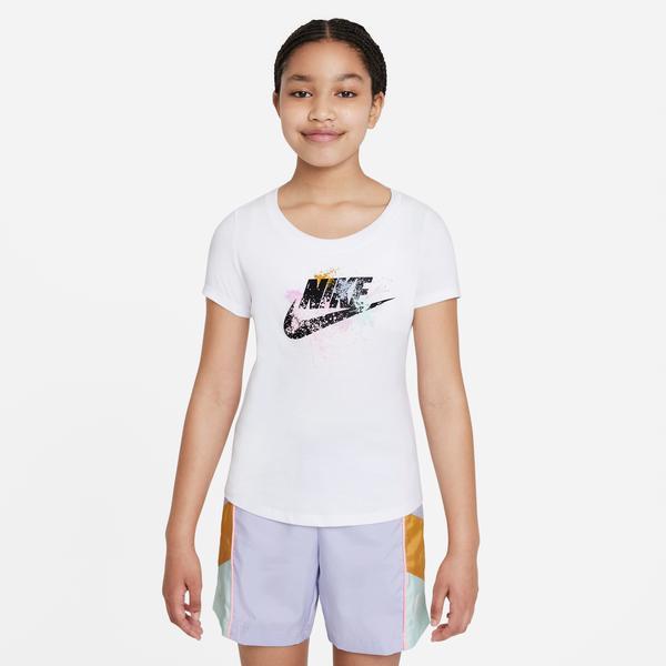 Nike Çocuk Beyaz T-Shirt