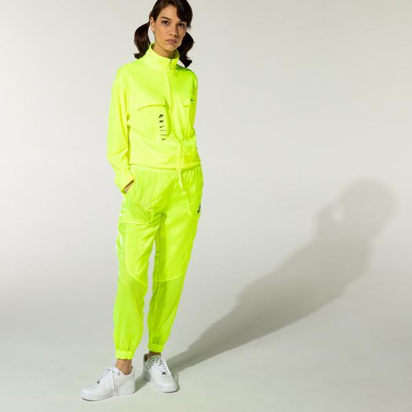 Nike Sportswear Essential Air Sheen Kadın Sarı Eşofman Altı