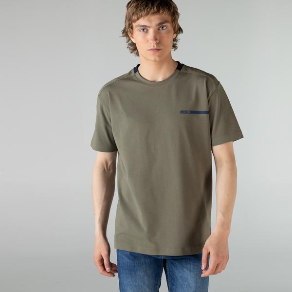 Lacoste Erkek Bisiklet Yaka Yeşil T-Shirt
