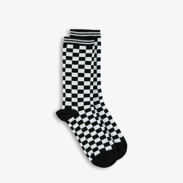 Superstep Siyah-Beyaz Çorap