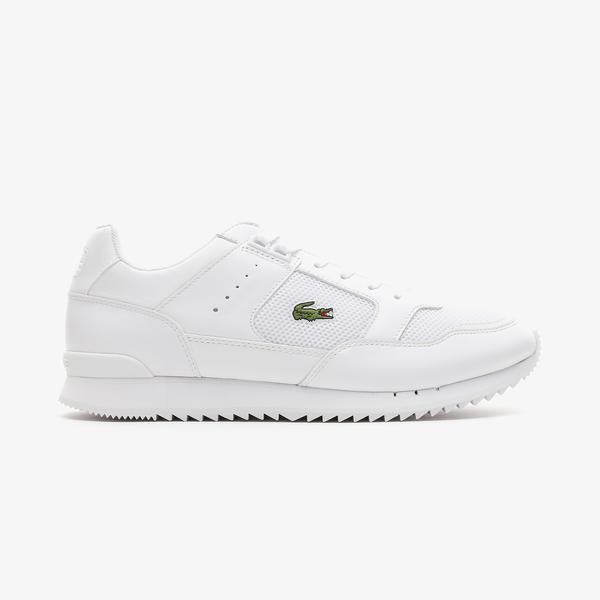 Lacoste Partner Piste 0721 1 Sma Erkek Beyaz Spor Ayakkabı