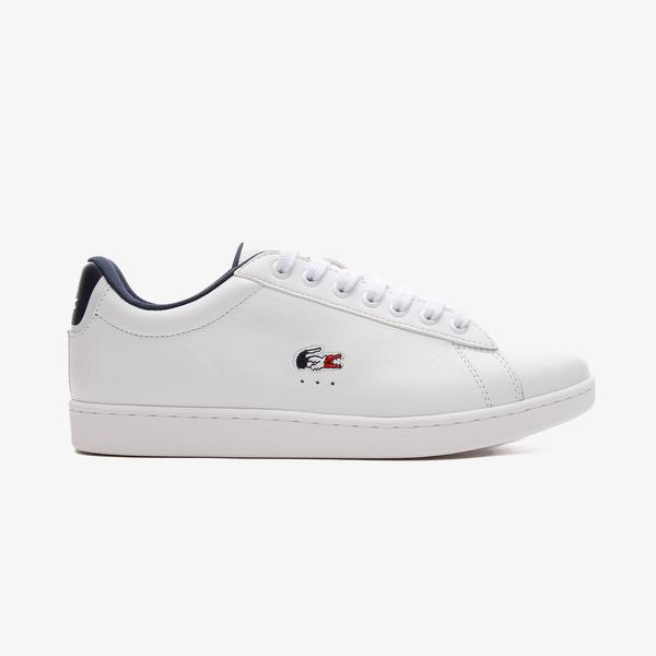 Lacoste Carnaby Evo Tri 1 Sfa Kadın Beyaz Spor Ayakkabı