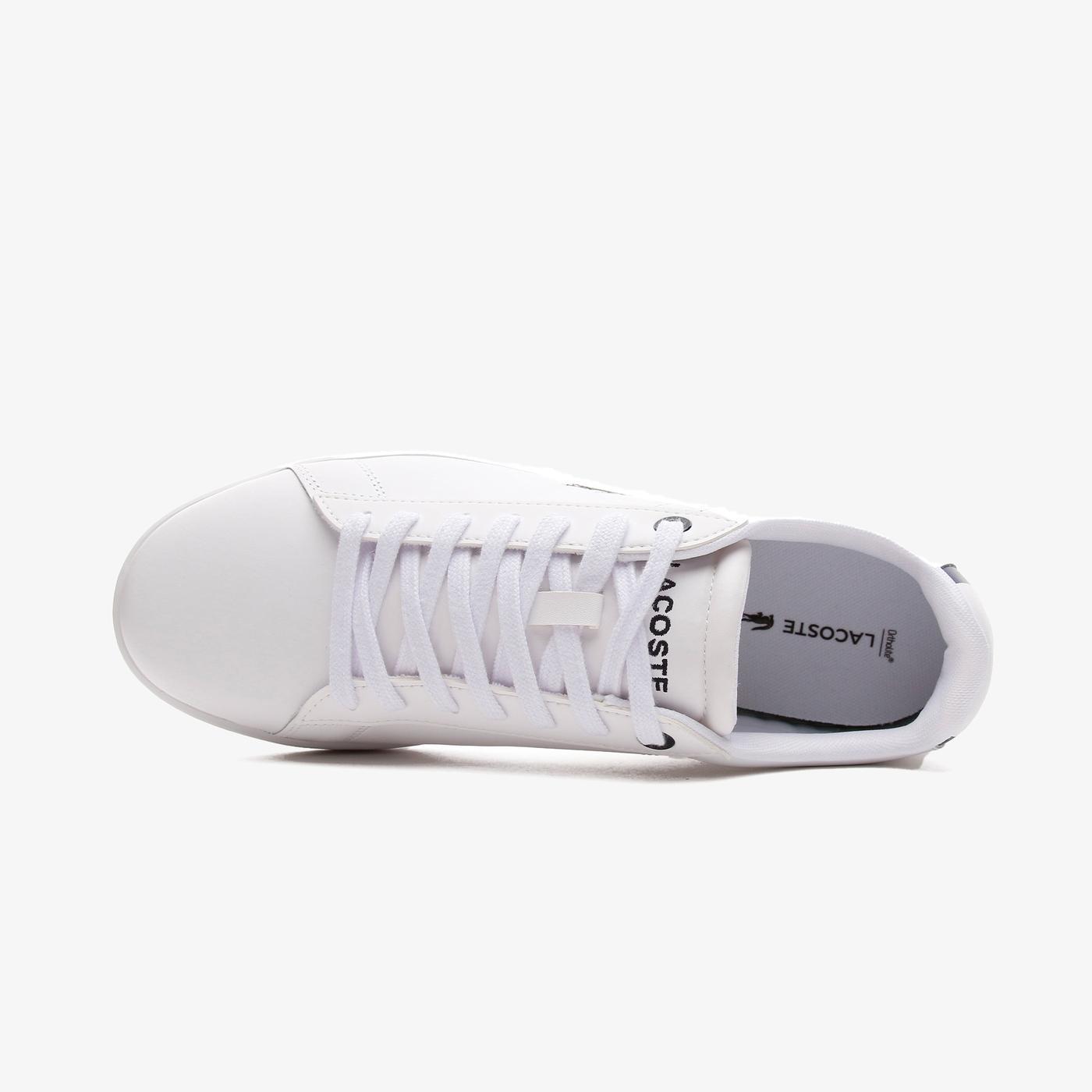 Lacoste Carnaby Bl21 1 Sma Erkek Beyaz - Lacivert Spor Ayakkabı