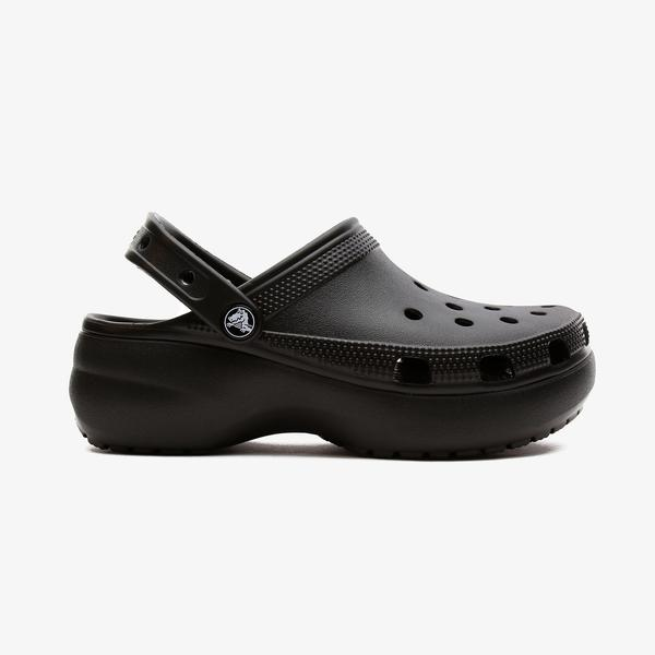 Crocs Classic Platform Kadın Siyah Terlik