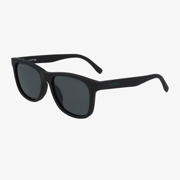 Lacoste Rectangle Çocuk Siyah Güneş Gözlüğü