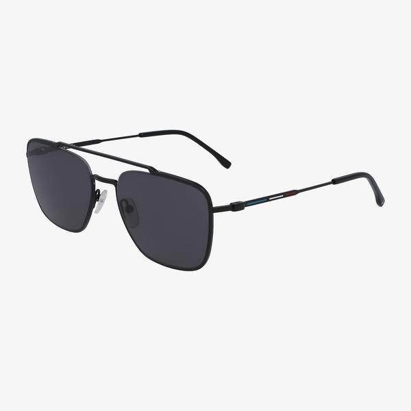 Lacoste Navigator Erkek Siyah Güneş Gözlüğü
