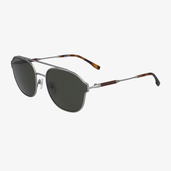 Lacoste Navigator Erkek Gri Güneş Gözlüğü