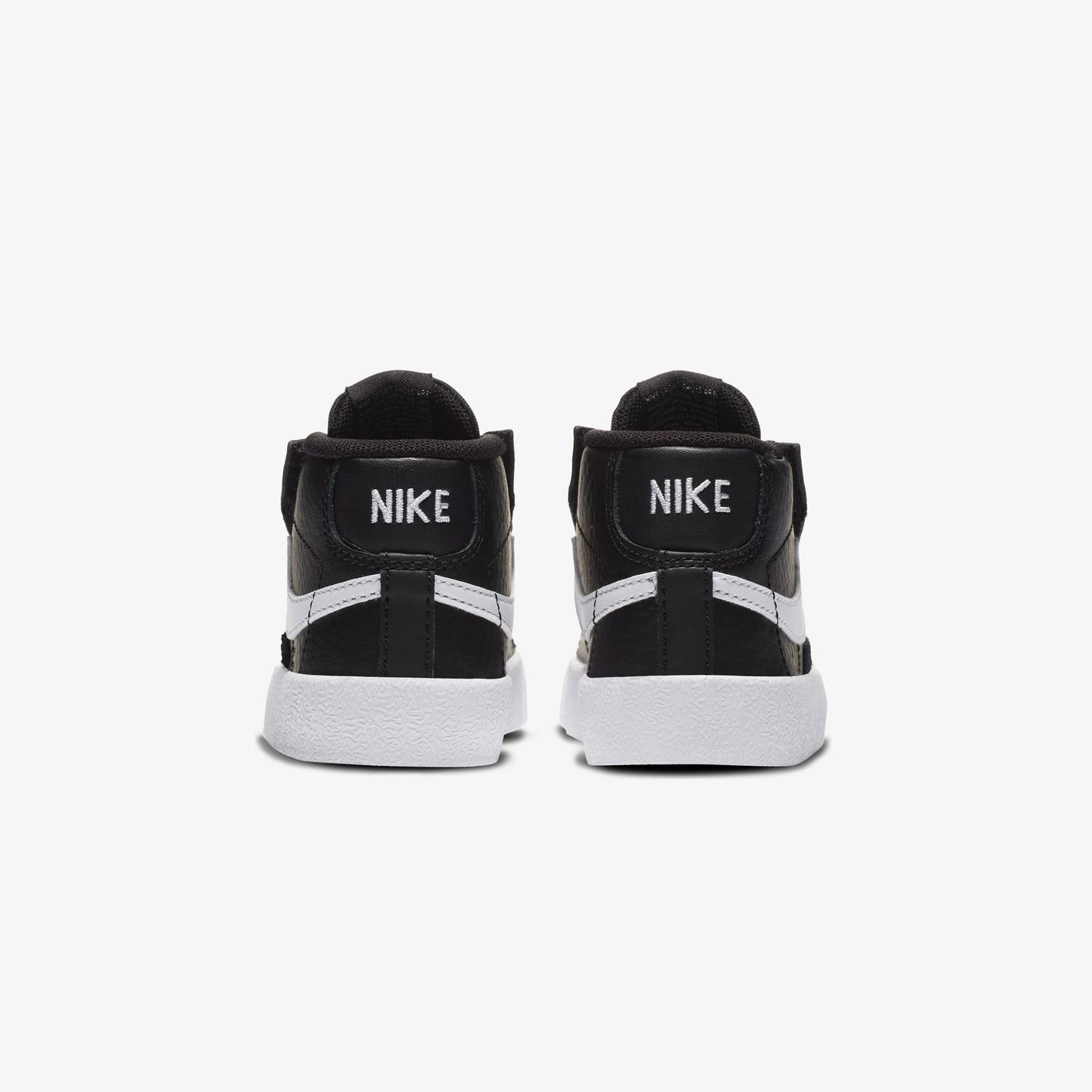 Nike Blazer Mid '77 Bebek Siyah Spor Ayakkabı