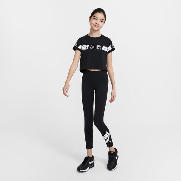 Nike Air Favorites Çocuk Siyah Tayt